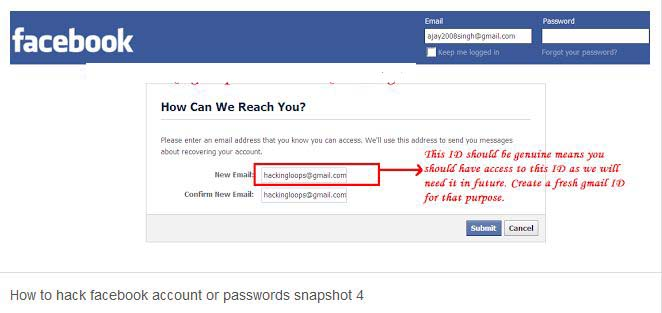 Facebook Hacking way-1 - ehack